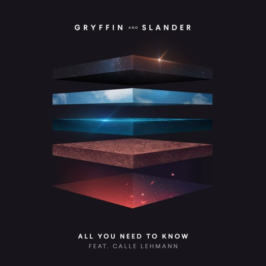 Gryffin, SLANDER / All You Need To Know (feat. Calle Lehmann)