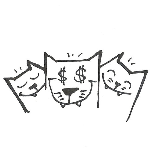 $$ Happy Cats / Goldie